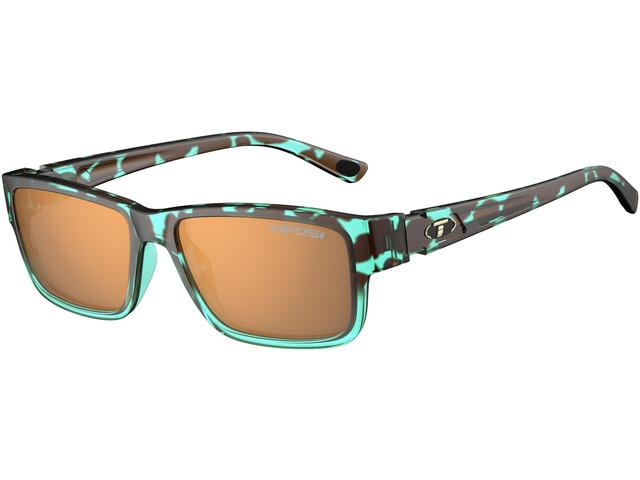 Tifosi Hagen 2.0 Glasses blue tortoise - brown polarized